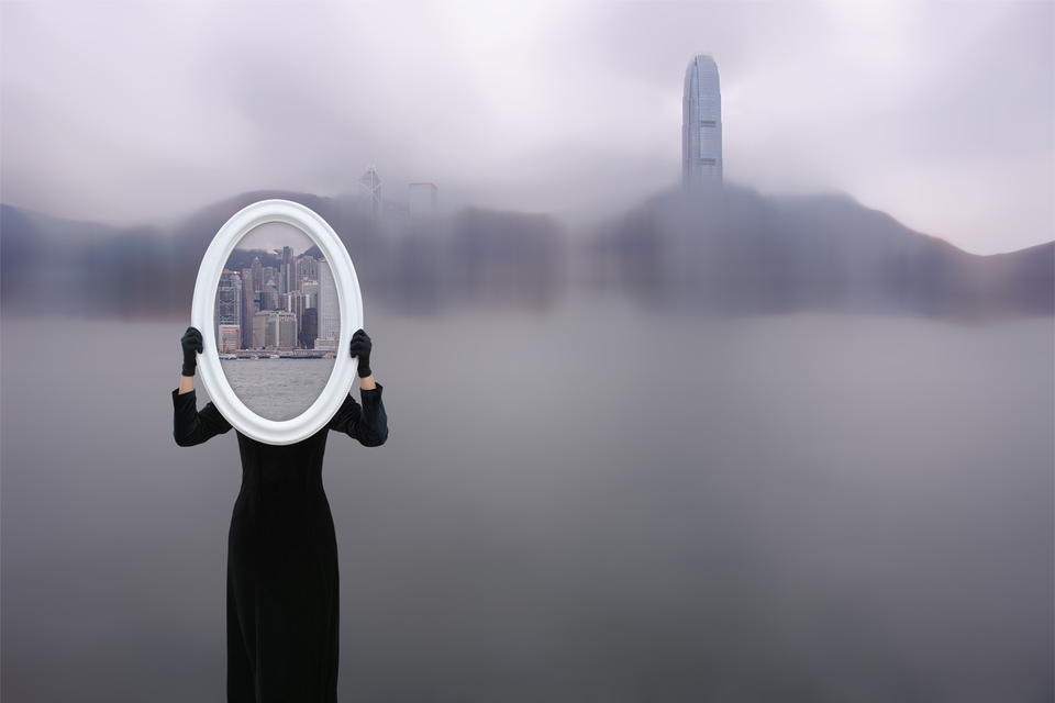 Gao Ling, The Mirror: Hong Kong. | Photo: Courtesy of the artist