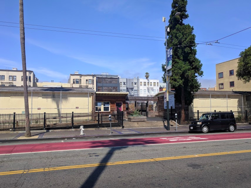 The citys first Navigation Center, at 1950 Mission St., could close as early as next month. | Image: Google