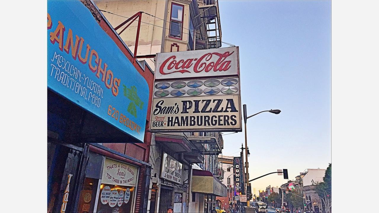 Inside 'Sam's,' North Beach's late-night burger mecca