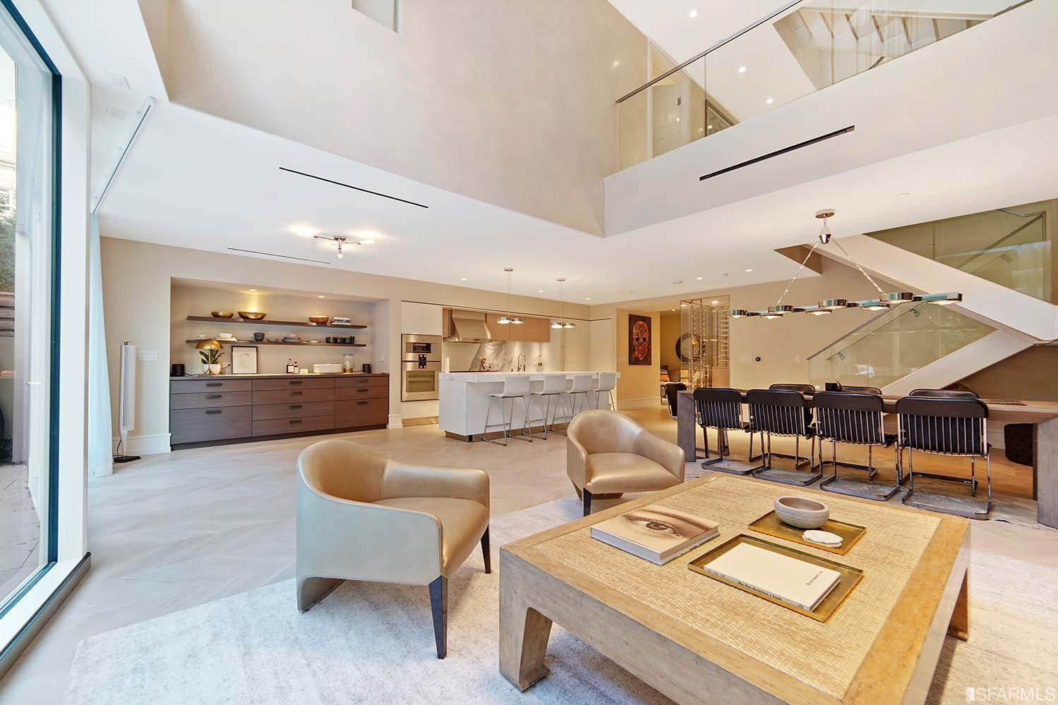 Photo: The interior of Decembers most expensive apartment rental in San Francisco/Zumper