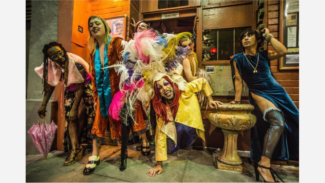 Lisa Evans, Ariel Harris-Porada, Ryan Hayes, Diego Gomez, Silky Shoemaker and Earl Alfred Paus. | Photos: Robbie Sweeny