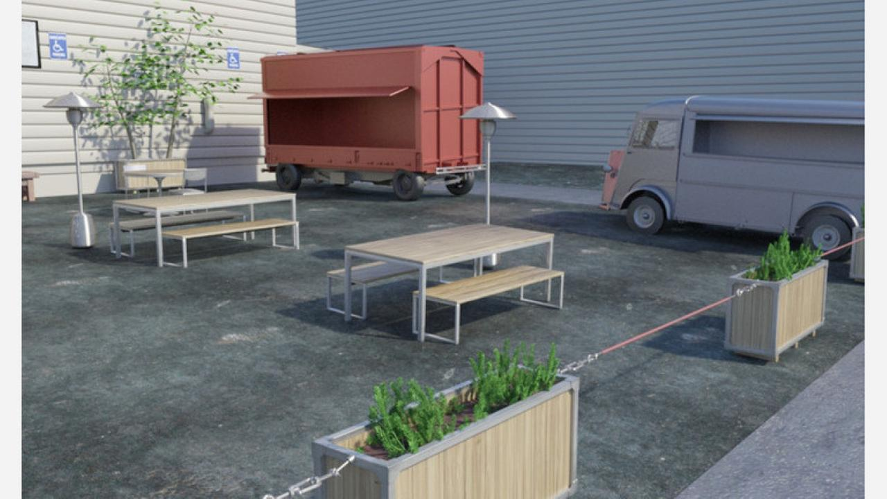 Photo: Project rendering/Planning Department