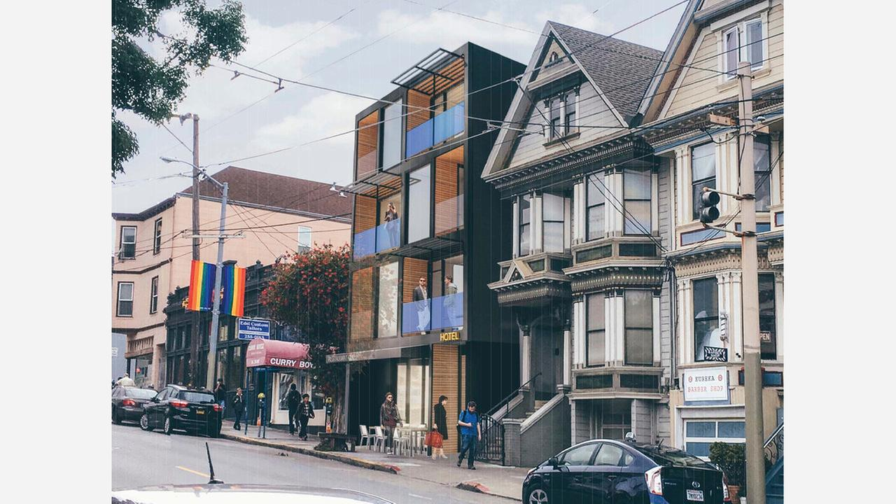 Tourist will soon be able to stay at Hotel Castro. | Image: SF Planning