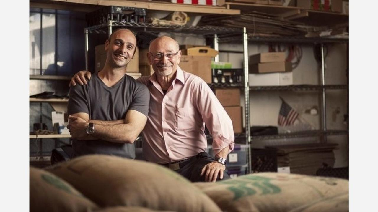 Owners Hrag and Henry Kalebjian. | Photo: Henrys House of Coffee/Yelp