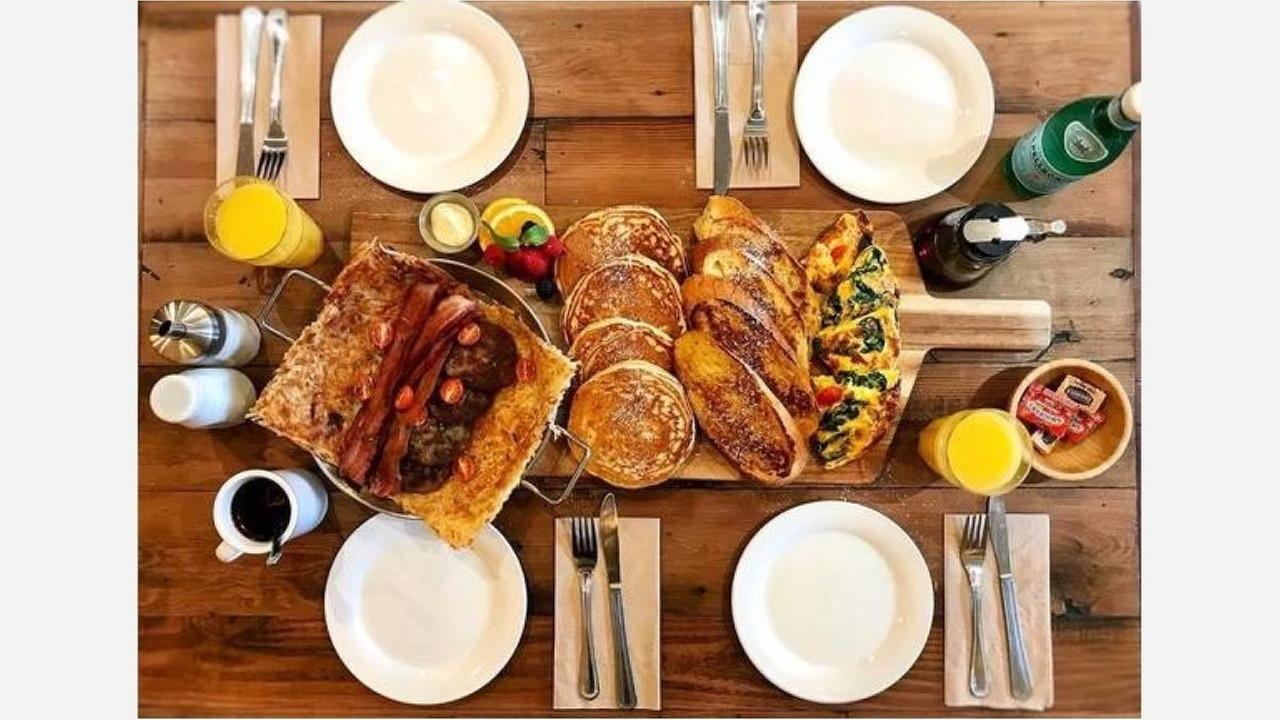 Brunch platter. | Photo: Hollywood Cafe Fillmore/Facebook
