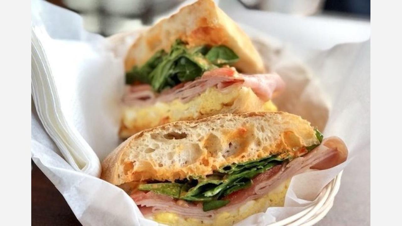 A ham-and-cheese breakfast panini. | Photo: Jeffy Y./Yelp