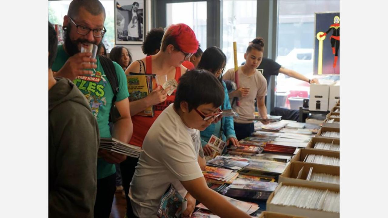 Free Comic Book Day 2017 at Cape & Cowl. | Photo: Facebook