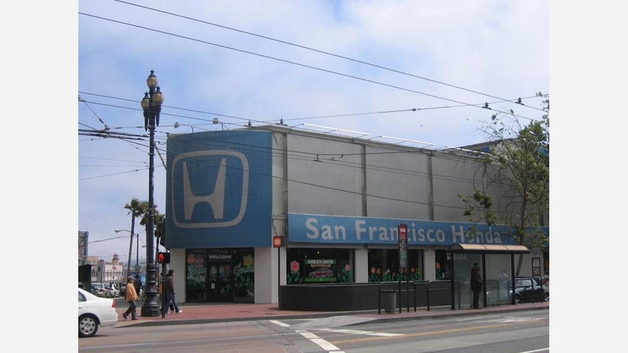 10 South Van Ness was most recently a Honda dealership. | Photo: Kevin Y./Yelp