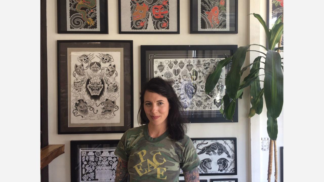 Studio Kazoku owner Jill Bonny. | Photo: Camden Avery/Hoodline