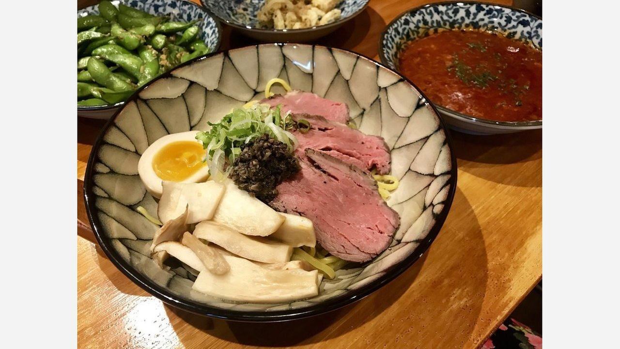 Tsukemen. | Photo: Christine L./Yelp