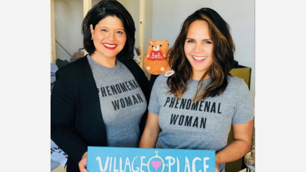 Marjan Philhour and Sarah Wright. | Photos: Village Place/Facebook