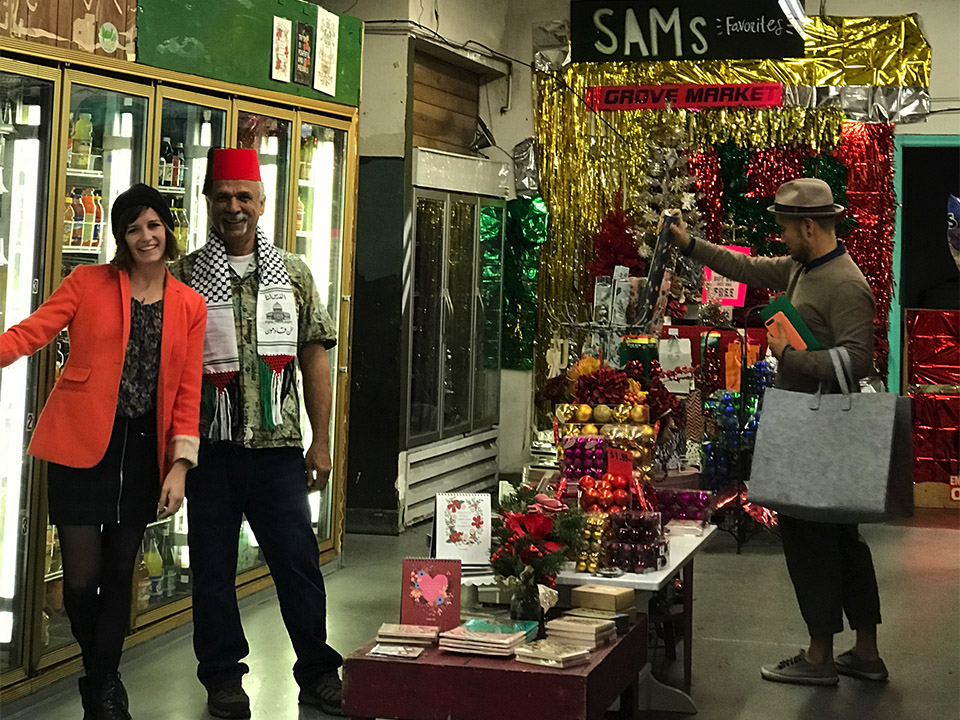 Lavish owner Nicole Bald with Grove Street Market owner Sam Abdelman (both on the left). | Photos courtesy of Lavish