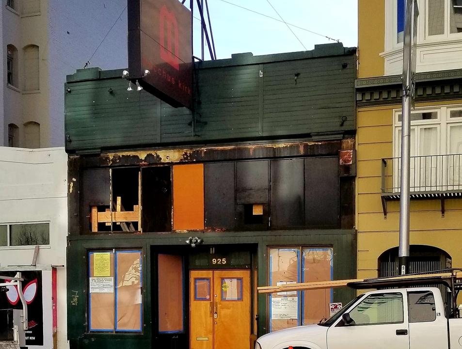 Future billiard hall at 925 Bush St. | Photo: Albertino M./Hoodline Tipline