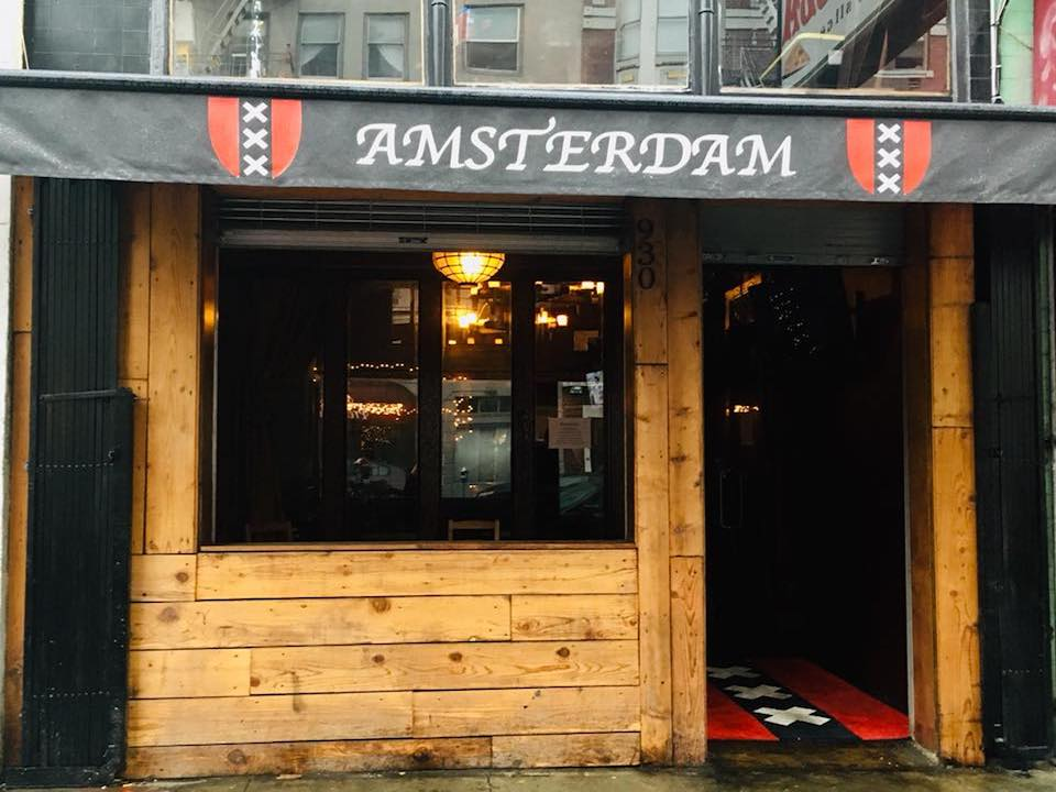 Amsterdams new location softly opened on December 17. | Photo: Amsterdam Cafe/Facebook