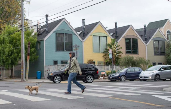 The project focuses on intersections with a history of collisions. | Images: Courtesy of SFMTA