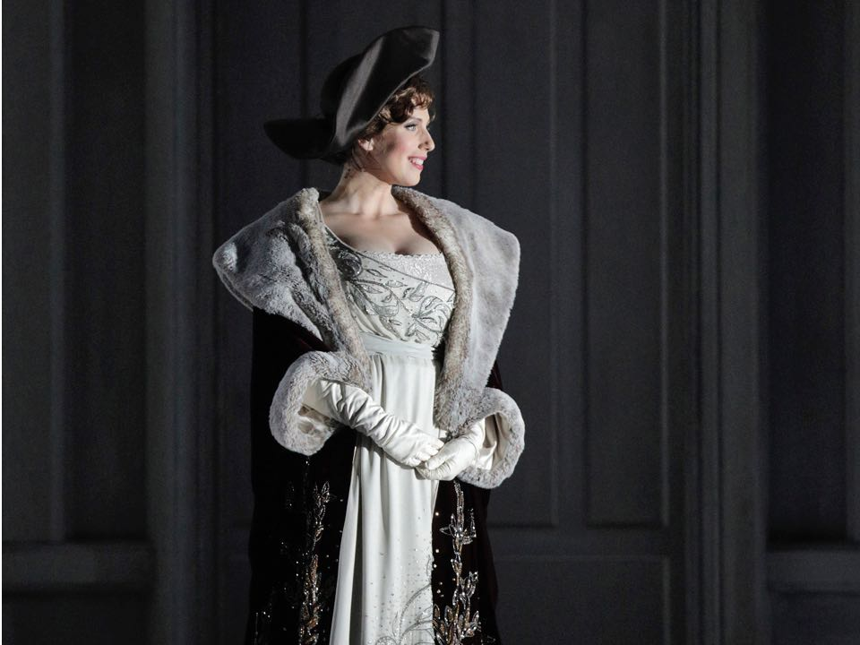 Ellie Dehn in the title role of Arabella. | Photo credit: Cory Weaver/San Francisco Opera