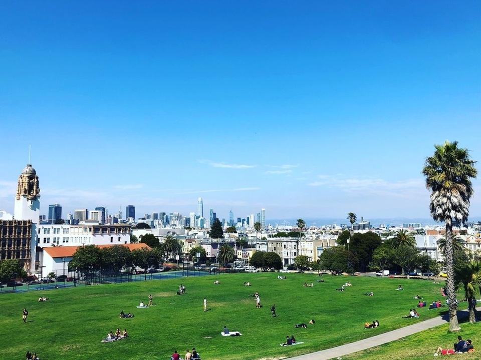 Dolores Park.   Photo: Jess L./Yelp