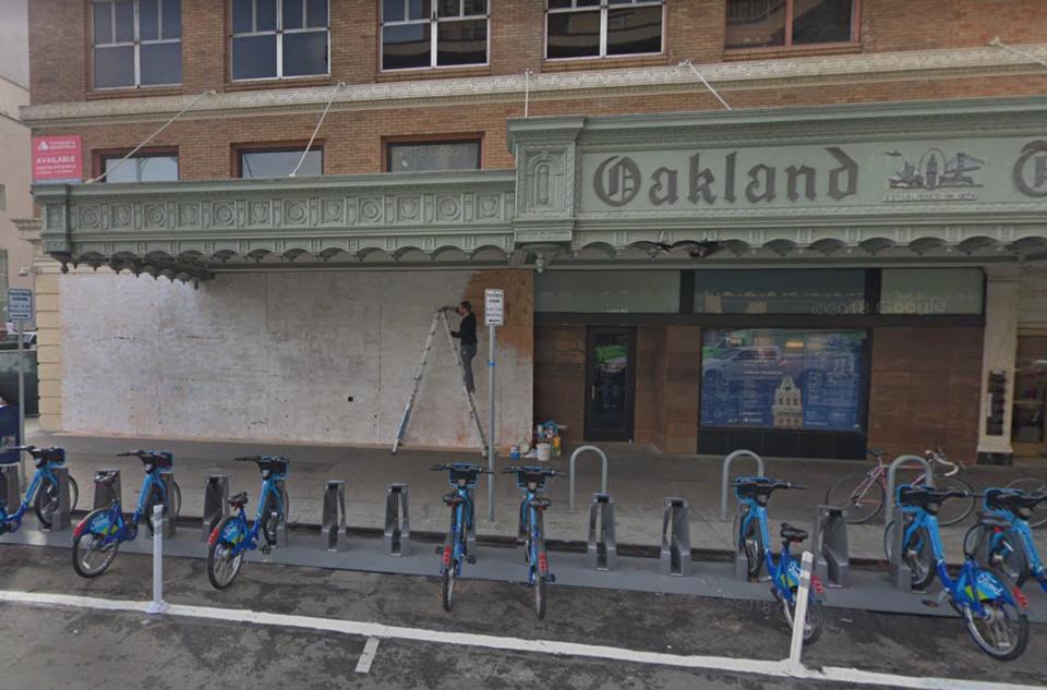 The Tribune Tavern space, closed since 2017. | Photo: Google