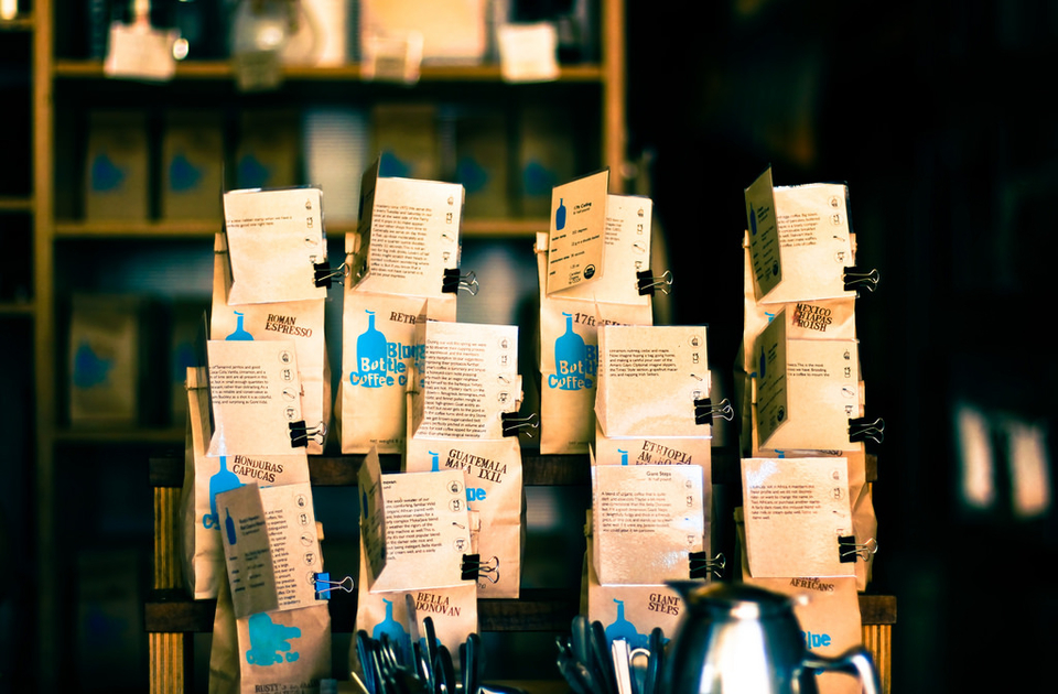 Blue Bottle Coffee. | Photo: Catherine Shyu/Flickr