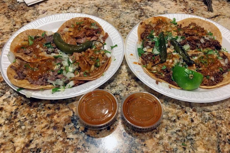Tacos El Gordo.   Photo: Marny N./Yelp