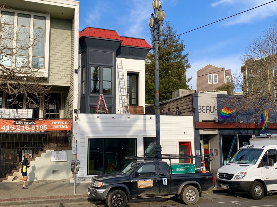 2350 Market Street is back on the market. | Photo: Steven Bracco/Hoodline