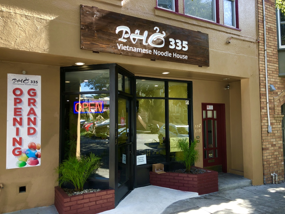 Pho 335 is now open. | Photo: Steven Bracco/Hoodline