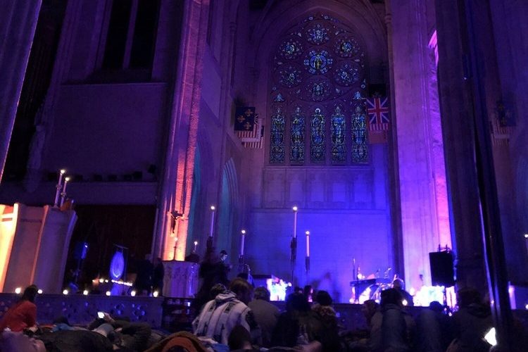 Grace Cathedral (Sound Meditation). | Photo: Jasmine N./Yelp