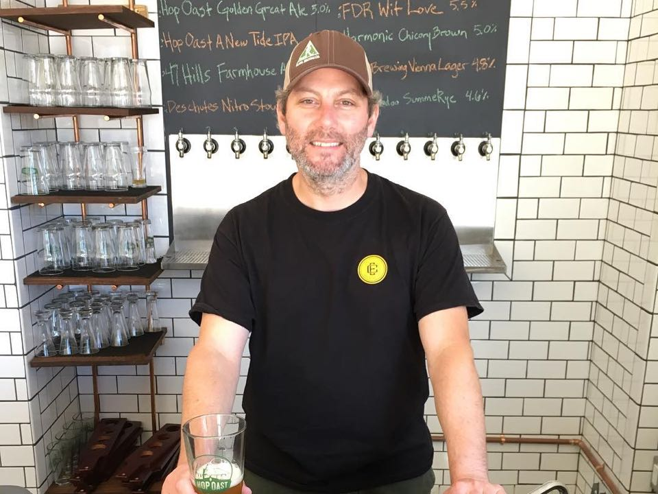 Hop Oast owner Aron Deorsey. | Photo: Hop Oast Pub and Brewery/Facebook