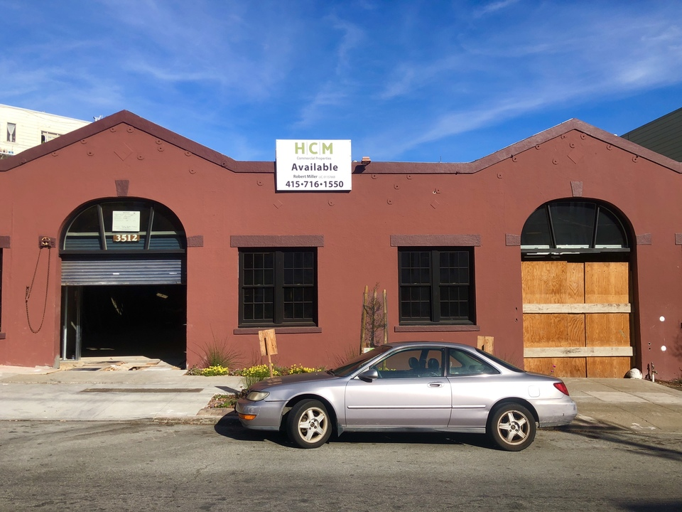 The Agency has proposed taking over 3512 16th Street. | Photo: Steven Bracco/Hoodline