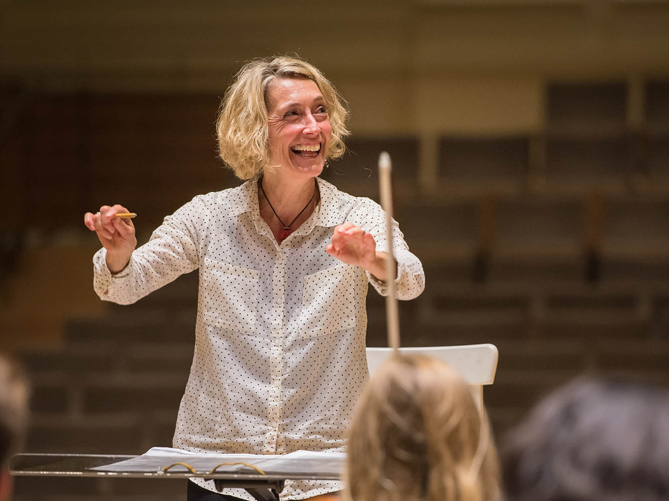 Maestra Nicole Paiement, music director for Opera Parallele. | Photo: SF Conservatory of Music