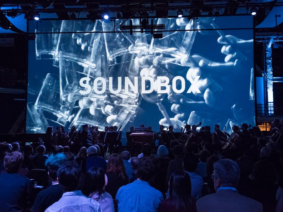 Inside a Soundbox performance. | Photo: Stefan Cohen