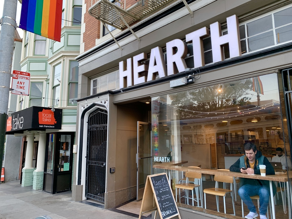 Hearth Coffee Roasters at 3985 17th St. | Photo: Steven Bracco/Hoodline