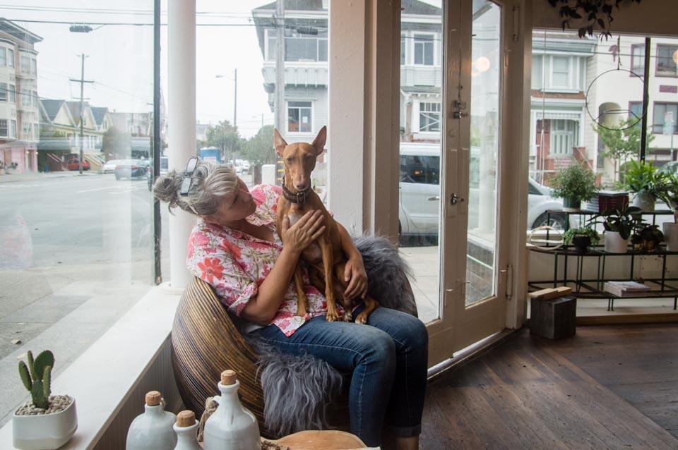 Linda Fahey, owner of Yonder. | Photo: Nikki Collister/Hoodline