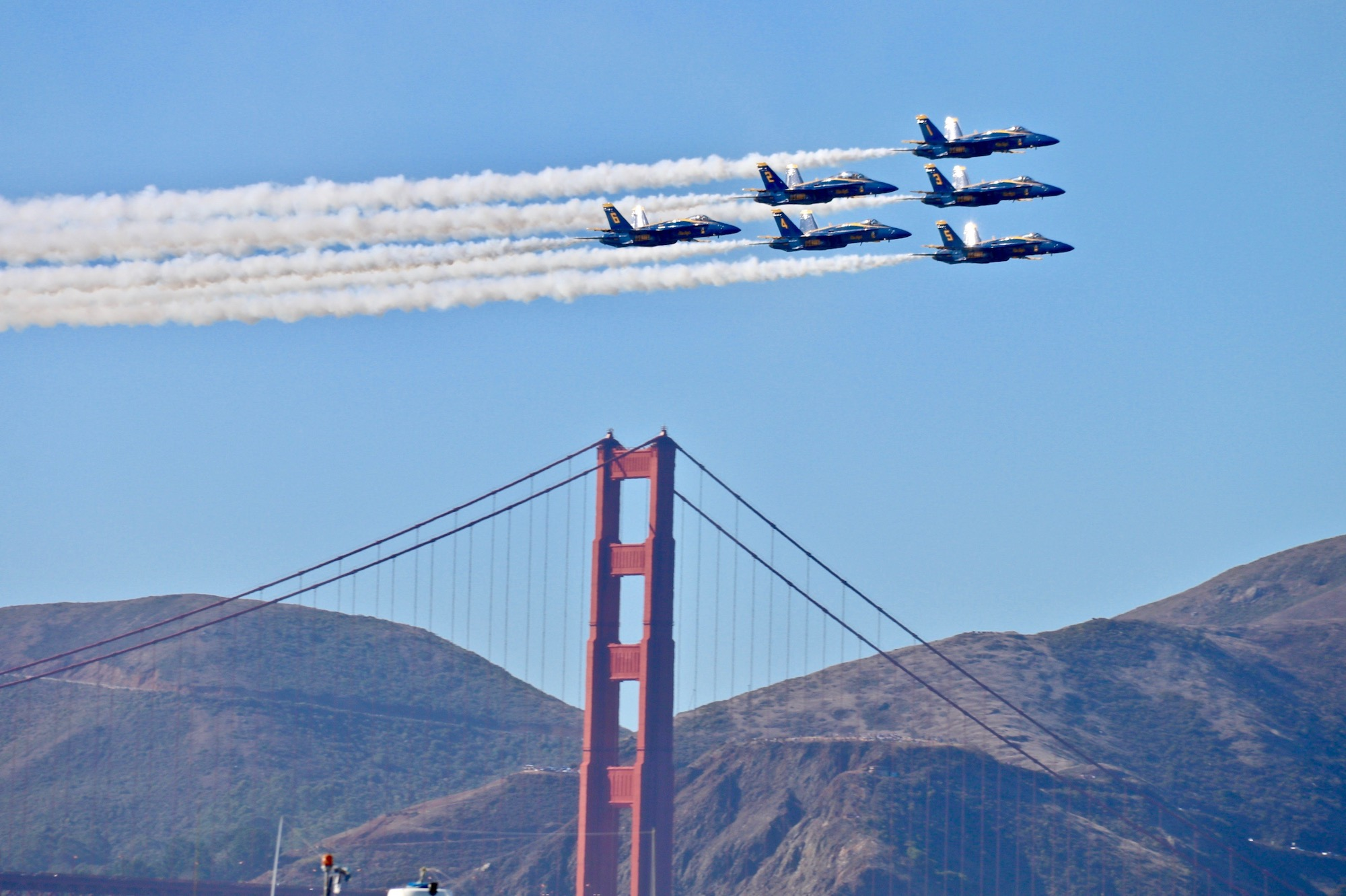 The Blue Angels. | Photos: Beth Thomas/Hoodline