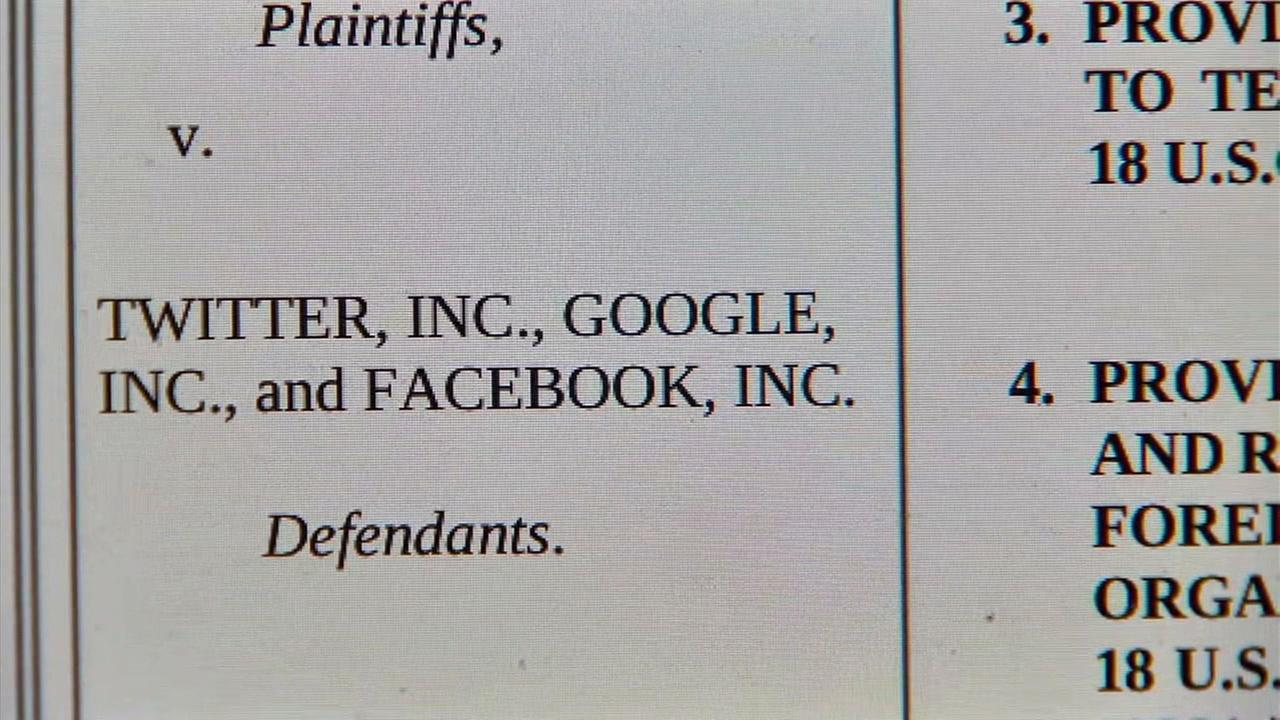 Facebook, Twitter and Google are facing a lawsuit from families of 2015 San Bernardino terror attack victims who claims they help terrorist groups spread propaganda.