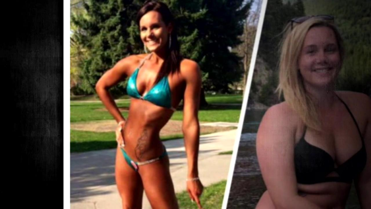A different kind of before and after has woman touting the importance of a positive body image.