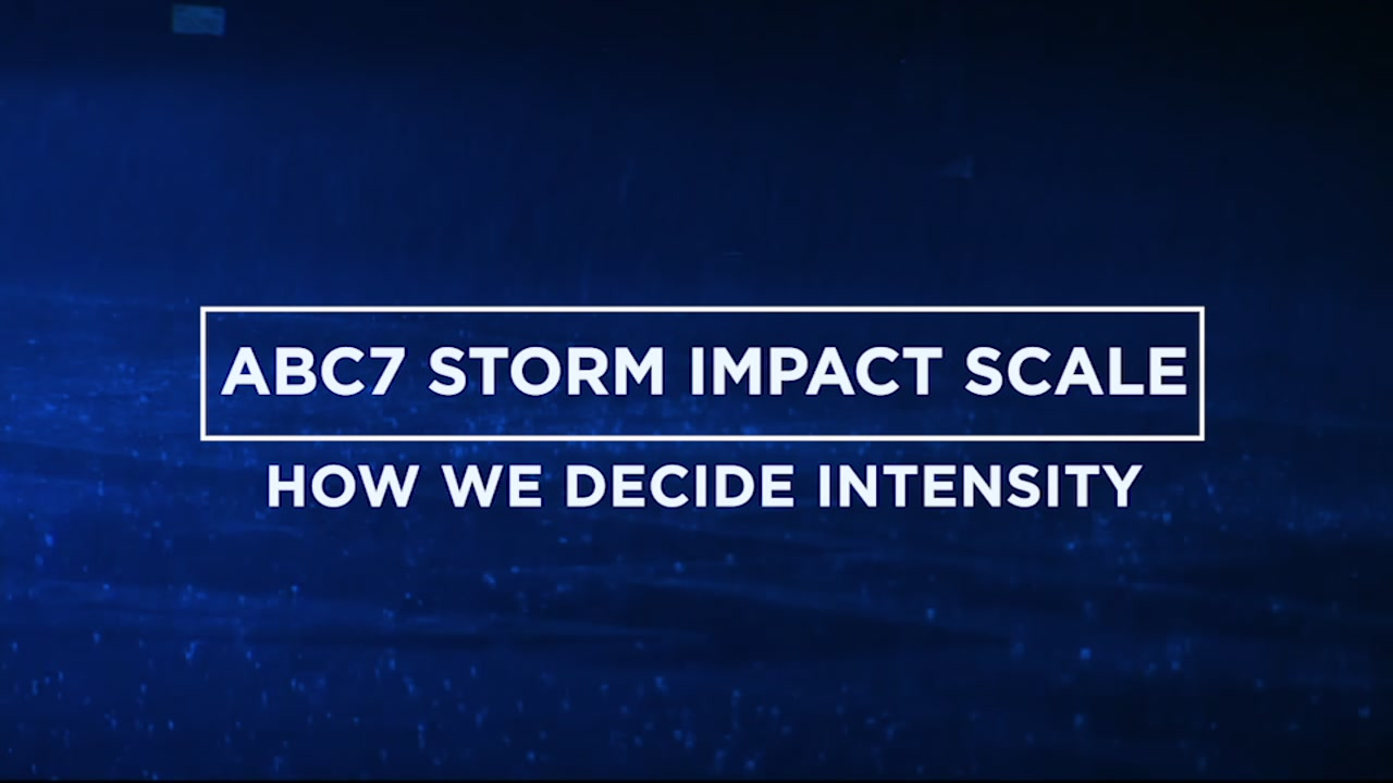 ABC7 News meteorologist Mike Nicco explains how he calculates the ABC7 Storm Impact Scale.