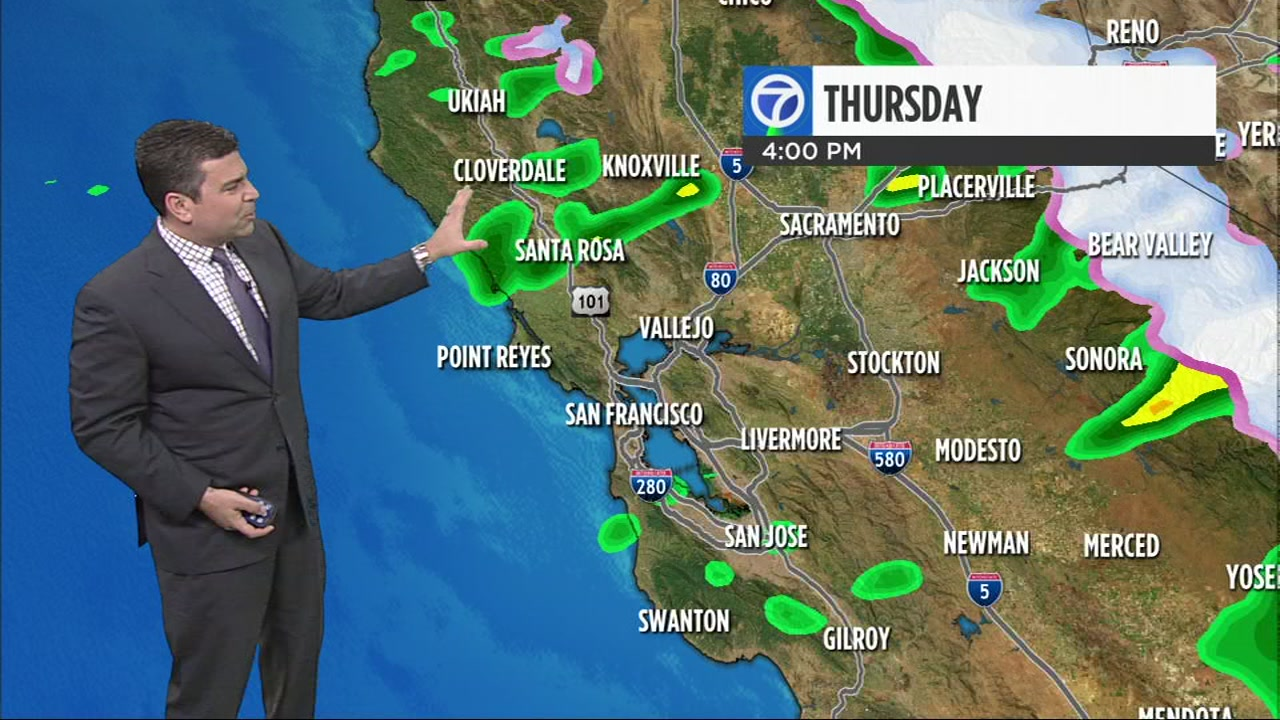 Meteorologist Mike Nicco has your local AccUWeather forecast for Thursday afternoon.