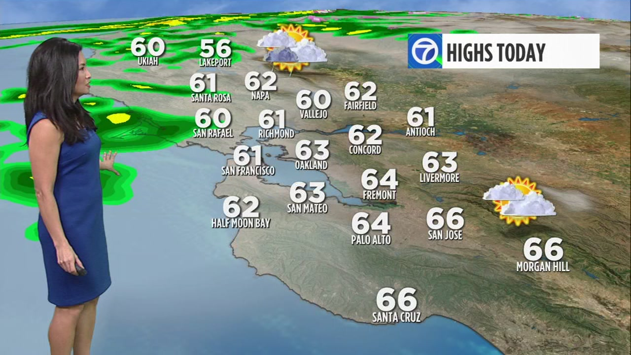 Weather Reporter Frances Dinglasan has your Bay Area AccuWeather forecast.