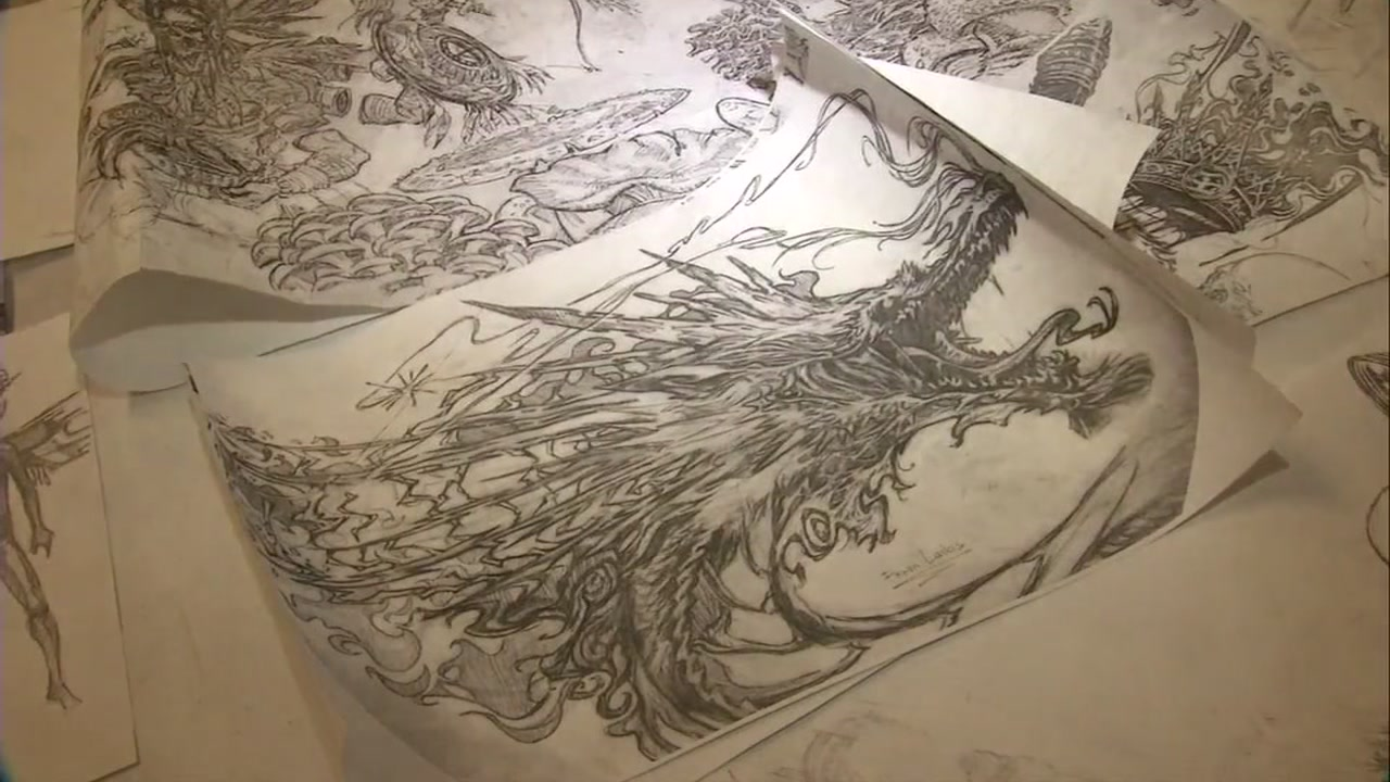 An artist in the South Bay has spent the last six months working on elements for a potential new mural to honor Chinese immigrants.