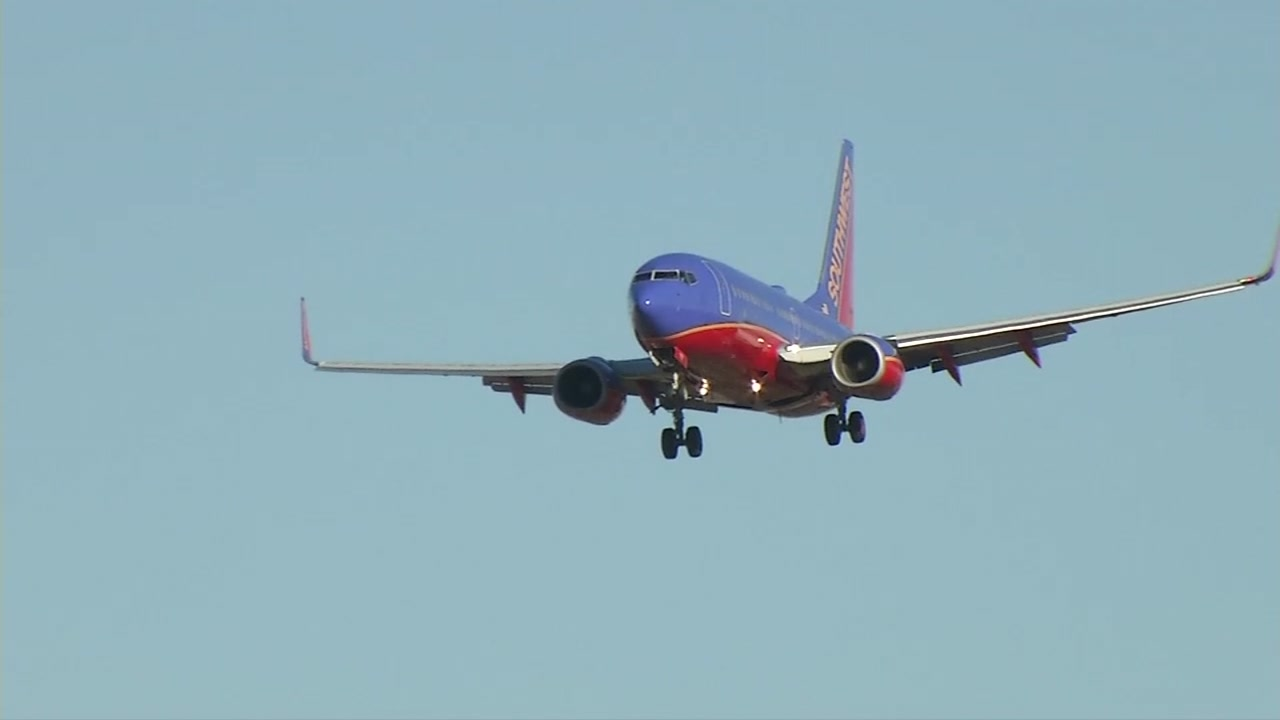 A Southwest Airlines plane is seen in this undated image.