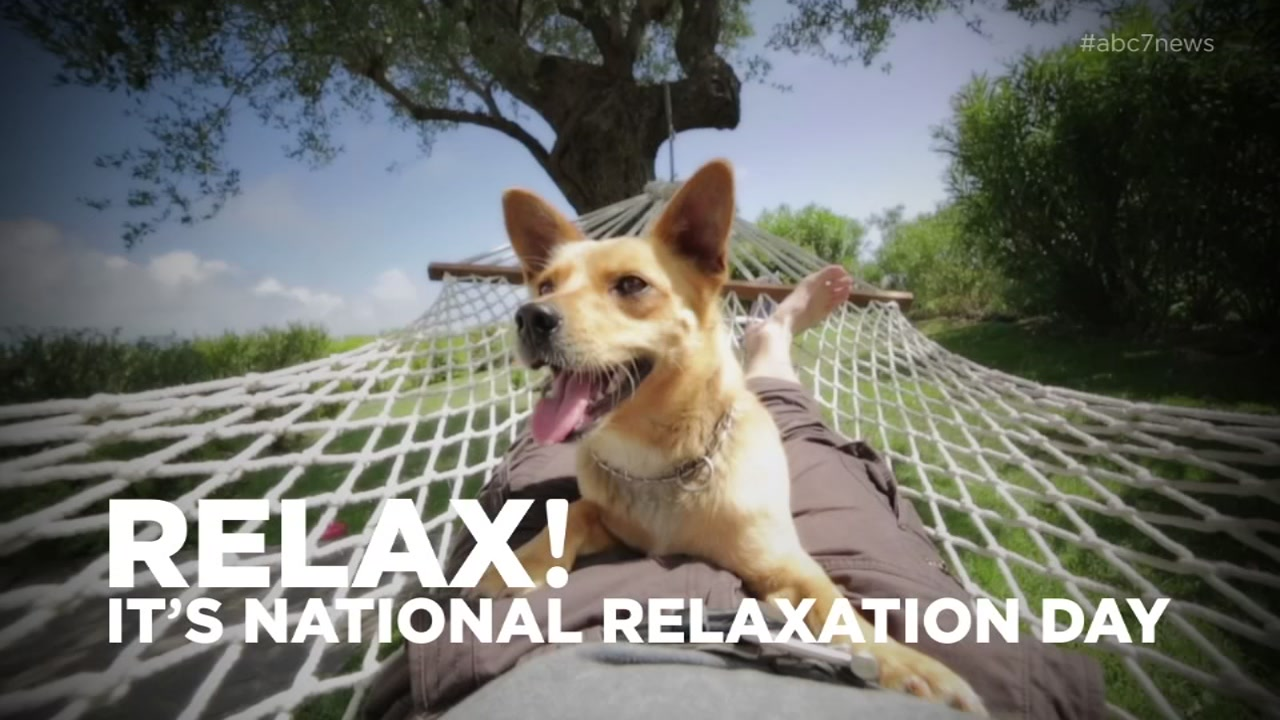 Happy National Relaxation Day!