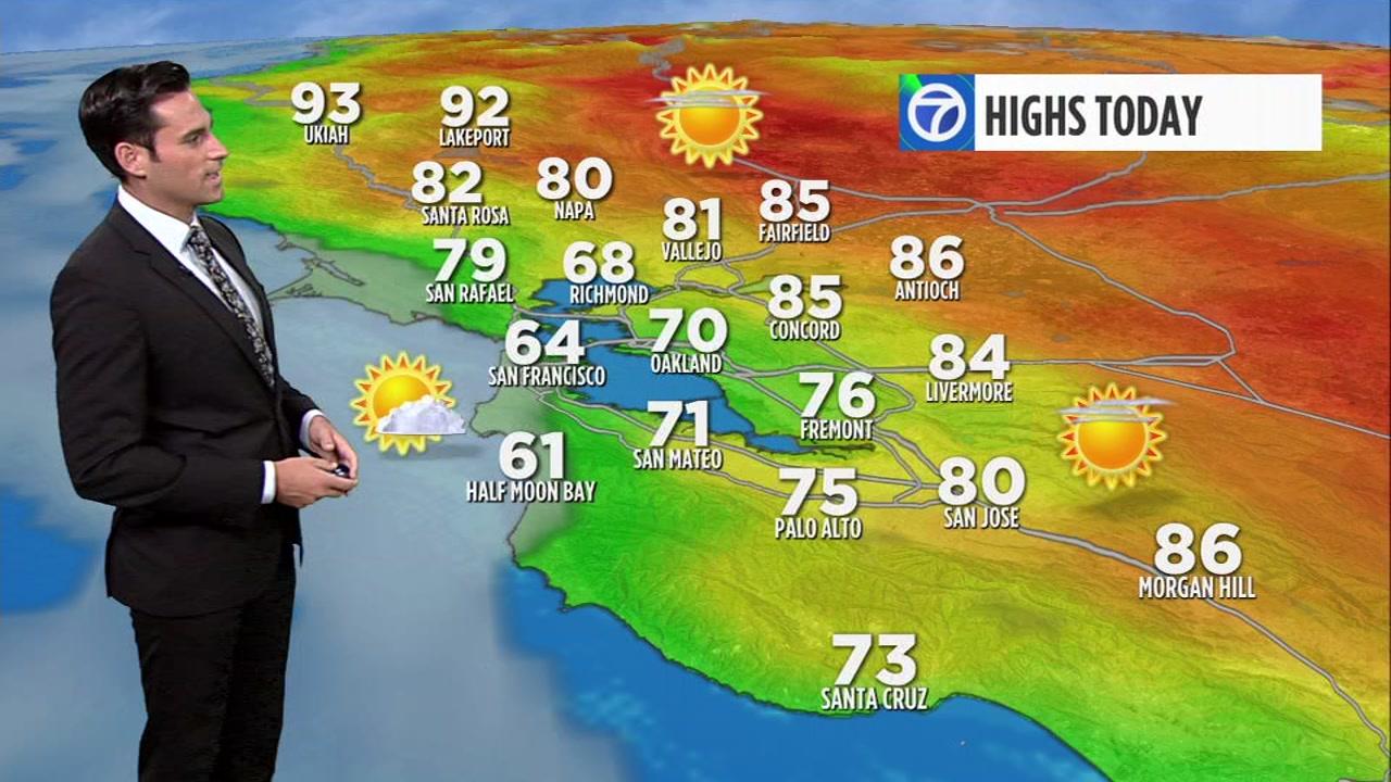Meteorologist Drew Tuma has your local AccuWeather forecast.