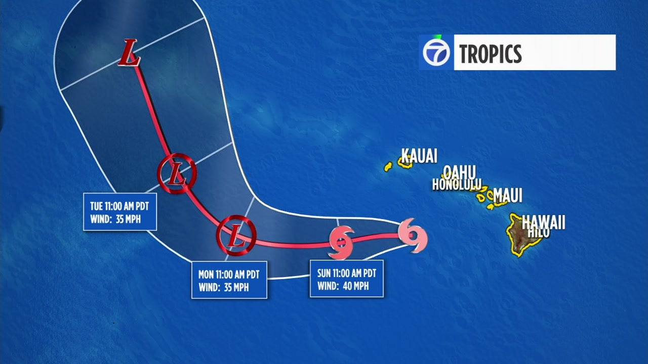 The National Weather Service has dropped all warnings for tropical storm Lane, saying it is now moving away from Hawaii.