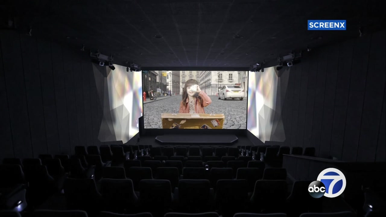 A new 270 degree movie theatre is opening in Dublin at the Regal Cinema. It is the first one in Northern California and the seventh in the country.