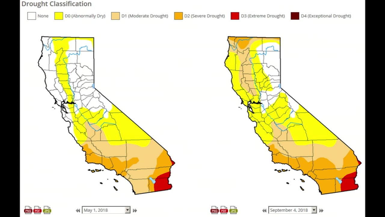 The entire Bay Area fell into a drought again during the summer.
