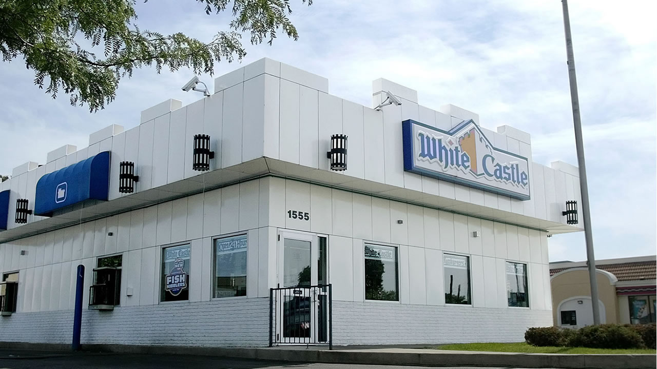 A White Castle restaurant in Columbus, Ohio is shown Monday June 21, 2004.