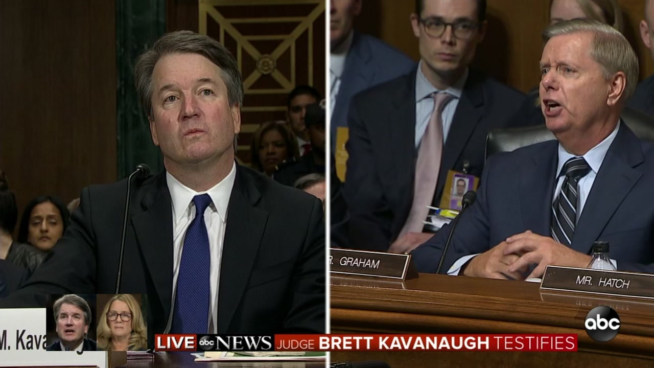 VIDEO: Sen. Graham with stern words at Kavanagh hearing