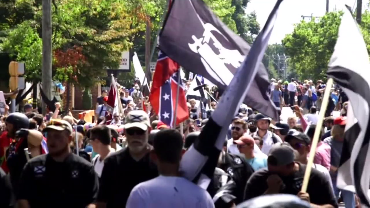 Bay Area man arrested along with 3 other in connection with Charlottesville rally
