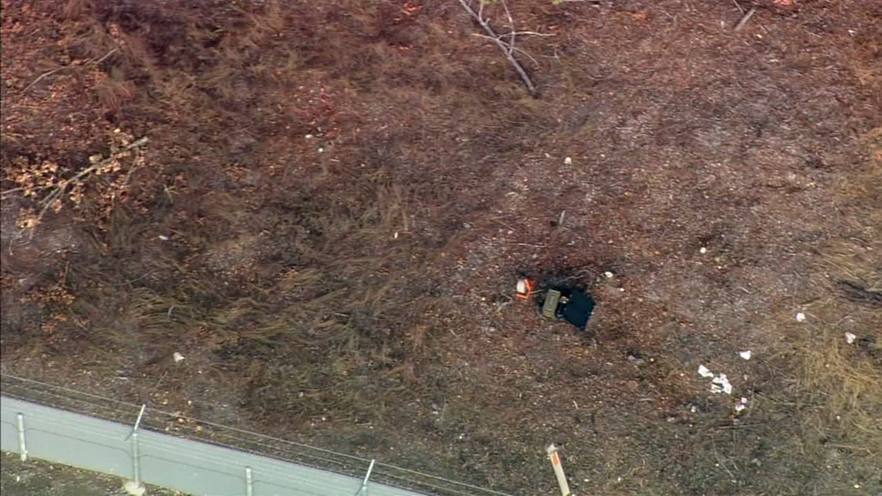 SKY7 was over a suspected explosive device in Sonoma County on Thursday, Oct. 4, 2018.